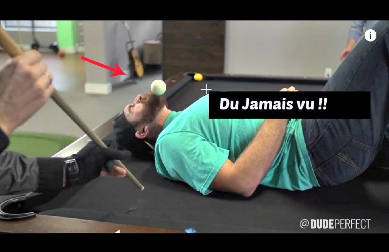 astuce table de billard