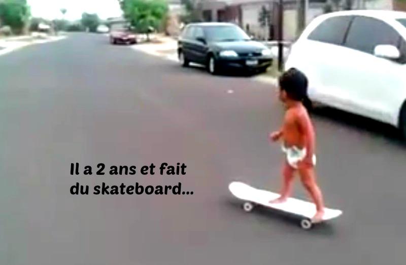 skateboard enfant 2 ans pro