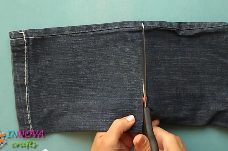 bricolage jeans astuce idee