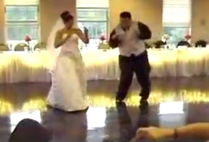 mariage competition danse mariee