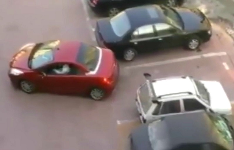 stationnement vehicule
