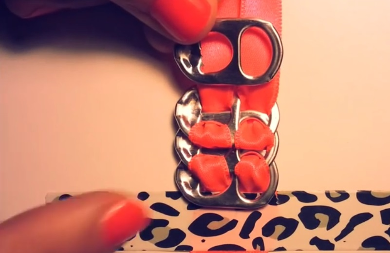 bricolage bracelet ruban