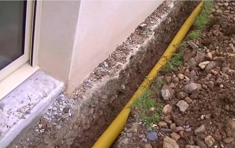 installer drain autour maison