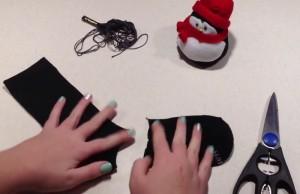 bricolage de noel chaussette