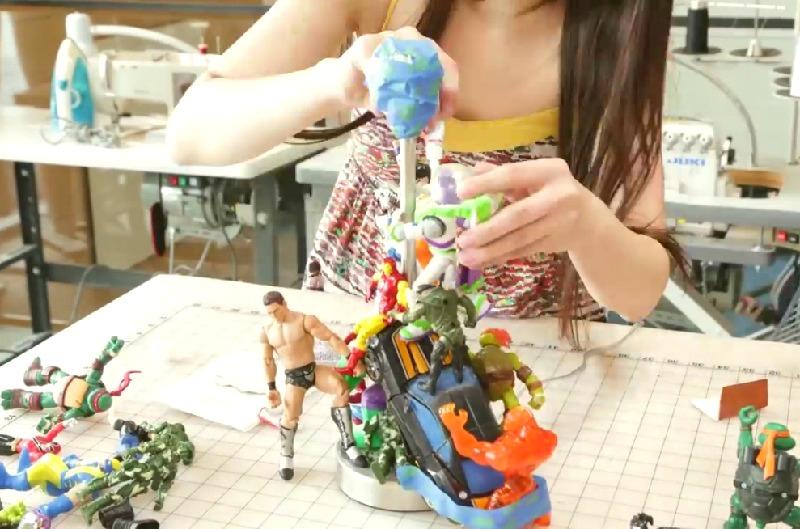bricolage lampe enfant jouet
