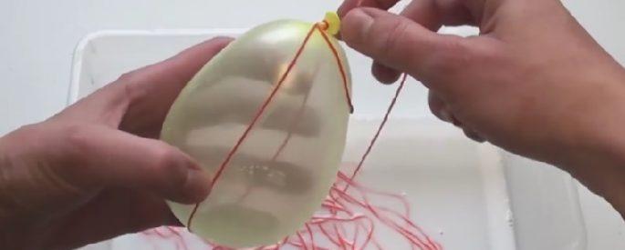 bricolage paques oeuf original technique