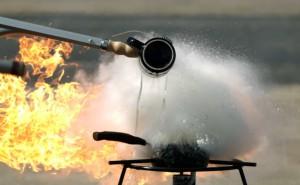 feu de cuisiniere eteindre incendie