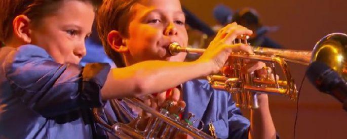 enfant musique concours chant television