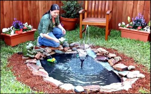 fabriquer un jardin eau facilement rapidement