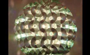 bricolage cd lampe