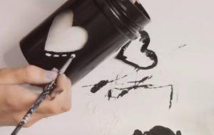 bricolage pot vase peinture facile