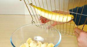 coupe banane avocat cuisine