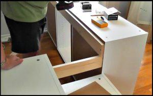 Il Fabrique Un Lit D Ado Avec Des Armoires De Cuisine Ikea Sa
