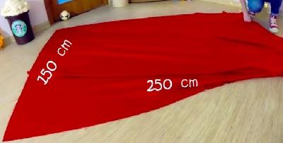 voici comment fabriquer un pouf g ant avec 3 tissus et des. Black Bedroom Furniture Sets. Home Design Ideas