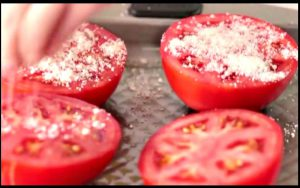 recette tomate fromage parmesan