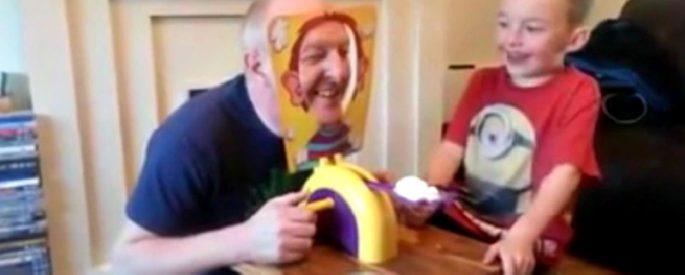 jeu enfant tarte grand papa