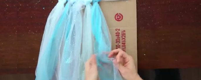 fabriquer tutu halloween princesse enfant