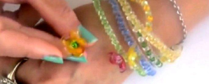 faire bijoux bouteille plastique