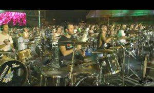 grand concert au monde musicien