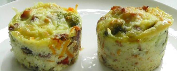 recette muffin oeuf legume