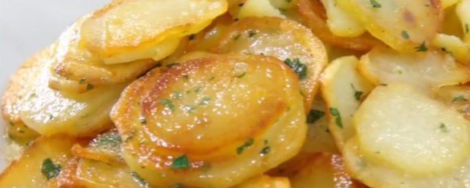 recette pomme de terre poelon