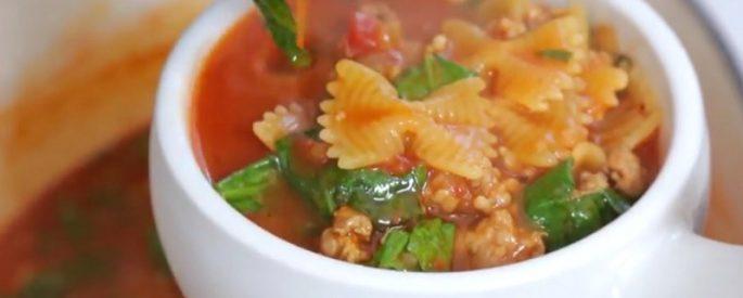 recette soupe legumes viande