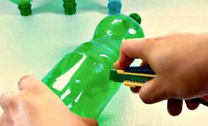 bricolage astuce bouteille plastique