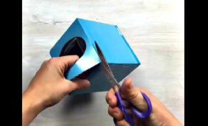 astuce boite de papier mouchoir