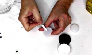 bricolage bougie de noel