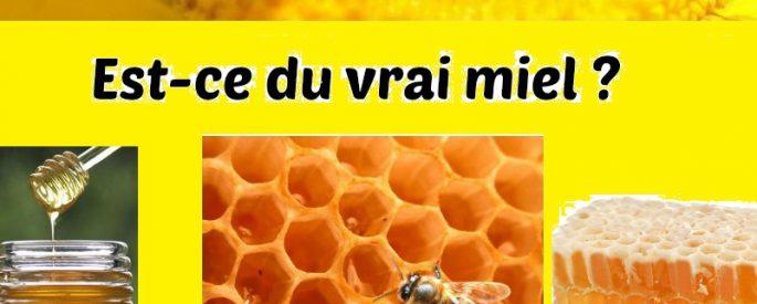 miel pur ou non