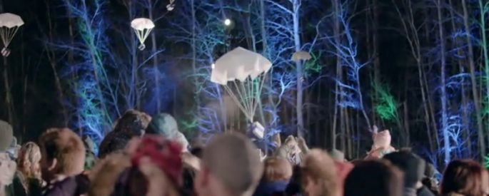 parachute cadeau noel wesjet