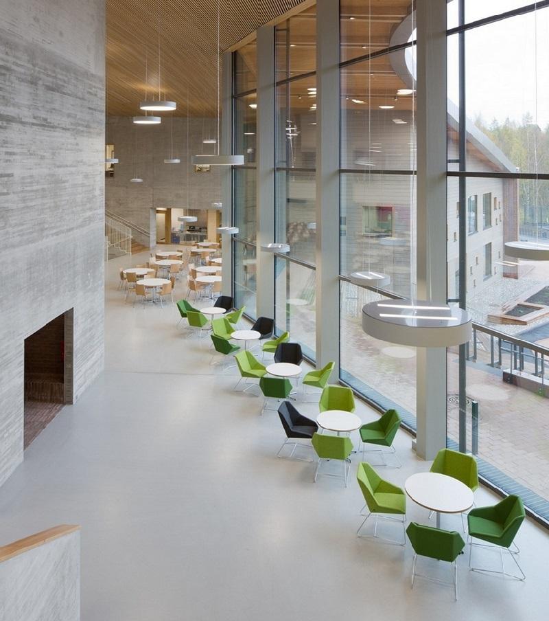 Une cole du futur a ouvert ses portes en finlande for Decoration fenetre ecole