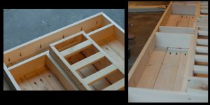 fabriquer table de jardin etape