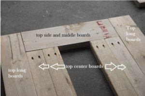fabriquer table de jardin mesure