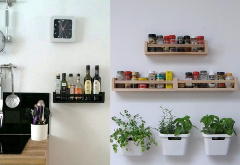 Elle Achete Des Etageres A Epices Chez Ikea Mais Pas Uniquement Pour Sa Cuisine