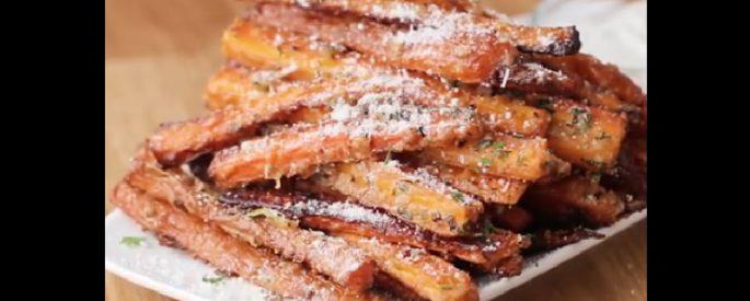 recette carotte fromage parmesan