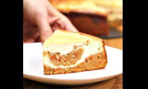 recette gateau carotte fromage
