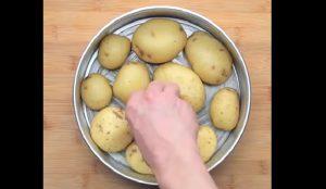 recette pomme de terre pizza