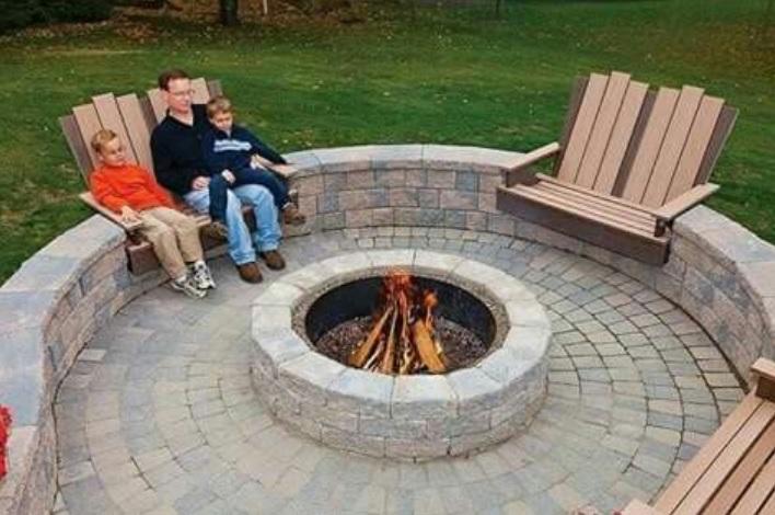 Voici 12 mod les de foyers et grills ext rieurs for Fabriquer un barbecue pas cher