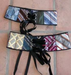 bricolage cravate ceinture