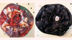 bricolage cravate fleur