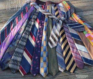 bricolage cravate jupe