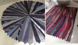 bricolage cravate tapis moquette