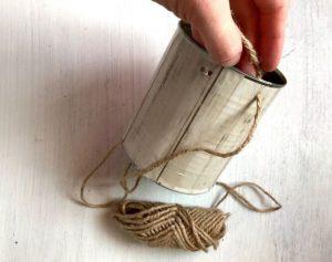 fabriquer porte serviette fine herbe