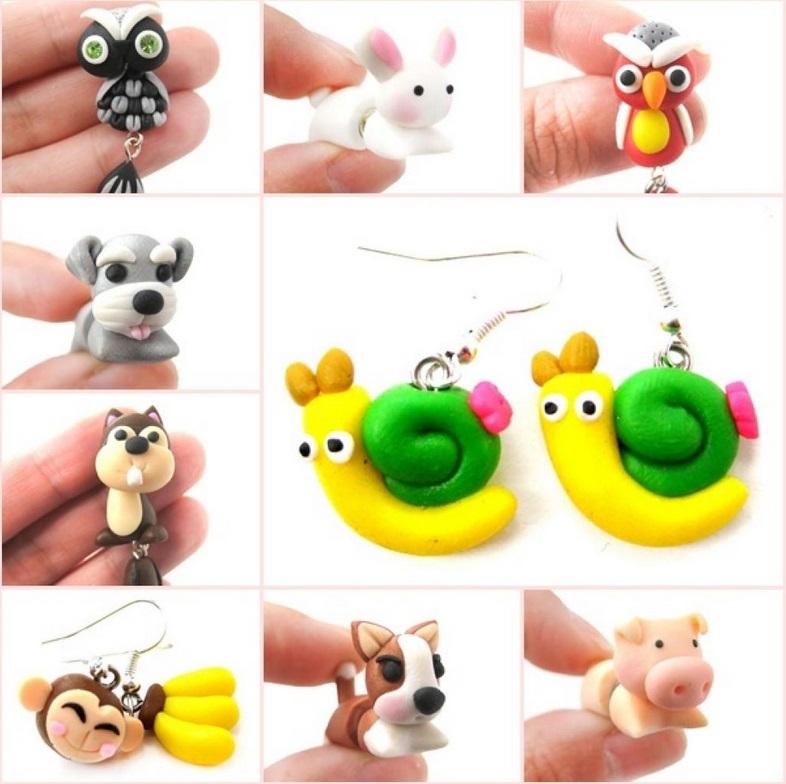 20 mod les et tuto de petits personnages modeler sublime et facile - Idee de creation avec de l argile ...
