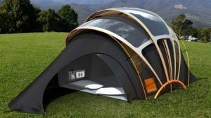 invention tente camping meilleure energie solaire