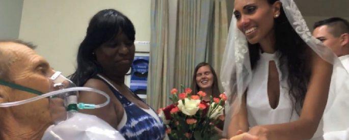 mariage hopital emouvant