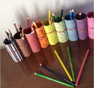 pot pour crayon bricolage