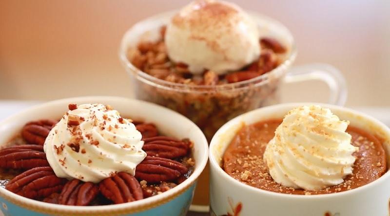 voici 3 desserts 192 faire au micro ondes en moins de 3 minutes facile et rapide
