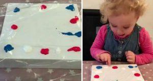 bricolage enfant peinture